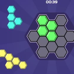 パズルゲーム【Hex Blocks Puzzle】